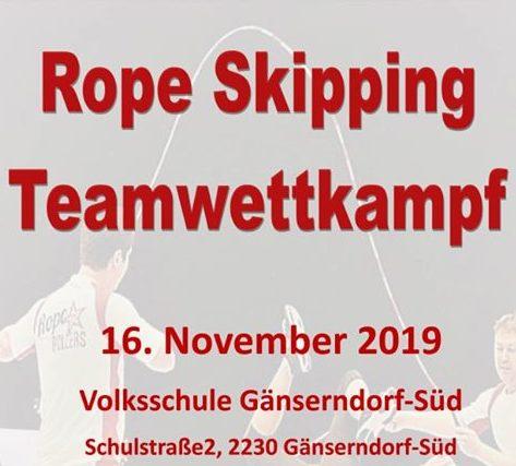 Rope Skipping Team Wettkampf