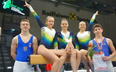Österreichischen Meisterschaften im Kunstturnen