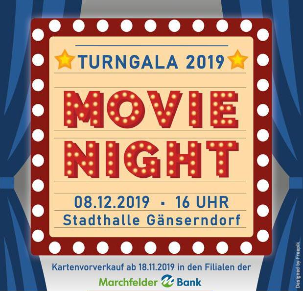 """Turngala 2019 – """"Movie Night"""""""