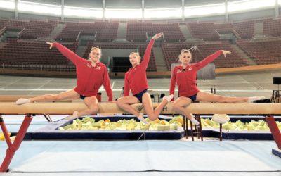 Gelungener Wettkampfstart für Gymnastics Kunstturnerinnen