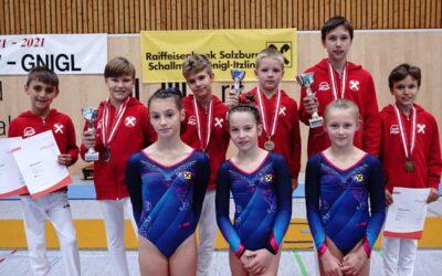 Gymnastics KunstturnerInnen starten in Wettkampfsaison